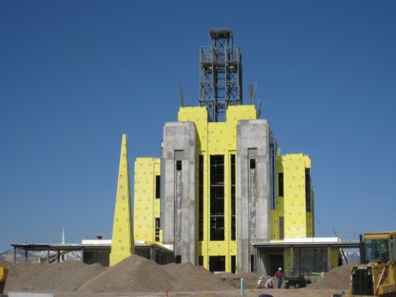 Oquirrh Mountain Temple Construction