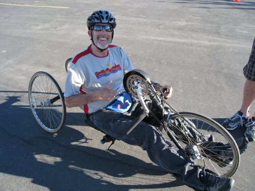 A wheelchair runner