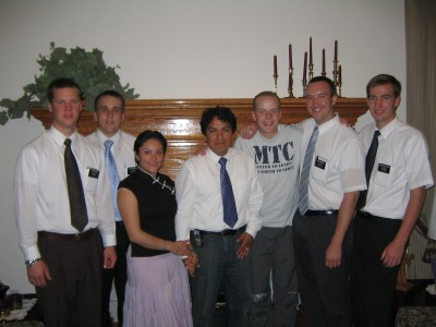 Photo of Paul with converts