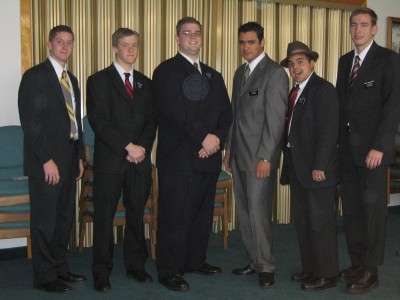 Photo of Paul with other missionaries