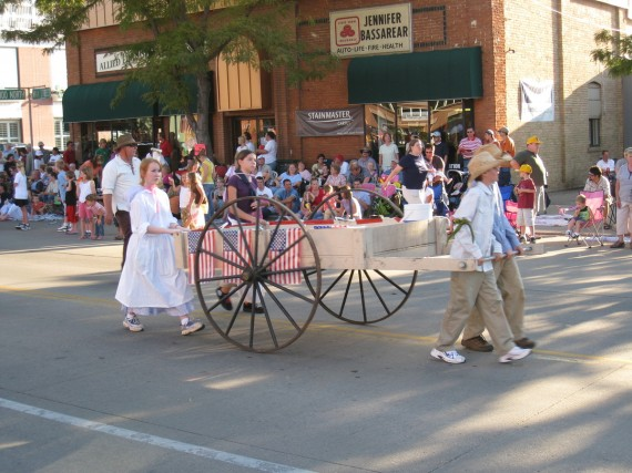 Handcart Days has to have at least one handcart