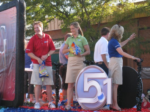 KSL TV float