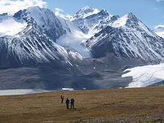 Altai Mountains, where four countries meet