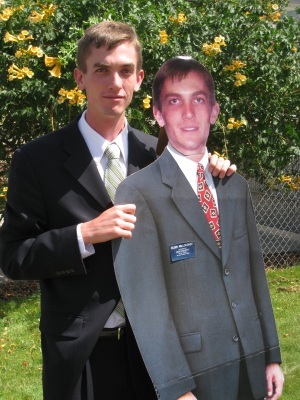 Jake and Jake. The fake Jake was used for weddings while the real Jake was on his mission.
