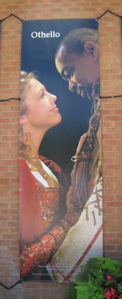 Poster of Desdemona and Othello