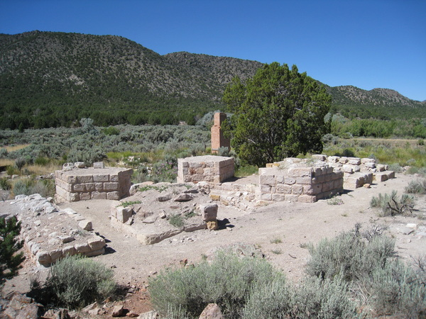 Ruins at Old Iron Town State Park
