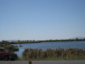 A lake by Legacy.