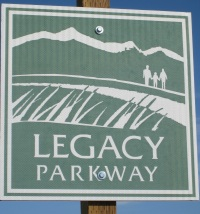 Legacy Parkway sign