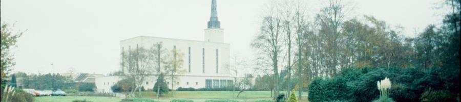 London Temple circa 1978