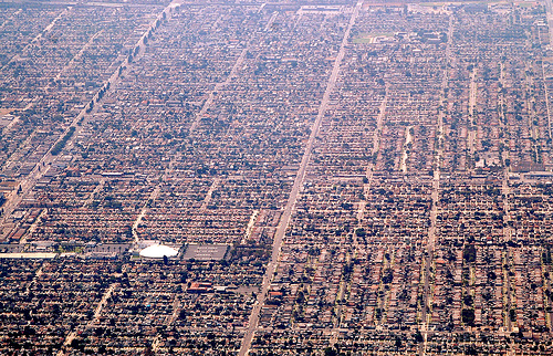Los Angeles Sprawl. Photo Credit: PenMachine