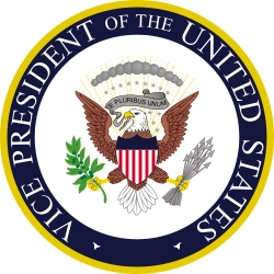 The Seal of the Vice President of the United States.
