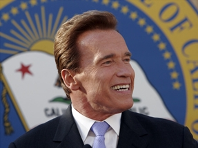 Arnold Schwarzenegger, 38th Governor of California.