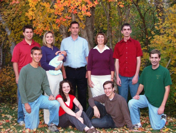 Family photograph 2008.