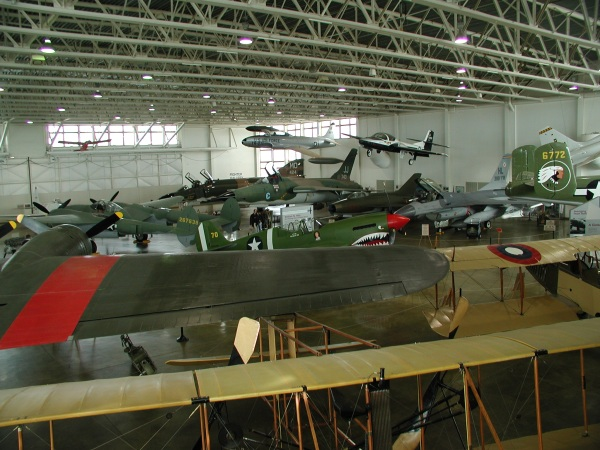 One of the Hill Aerospace Museum Hangars.