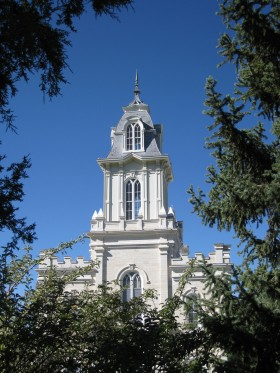 Manti Temple tower