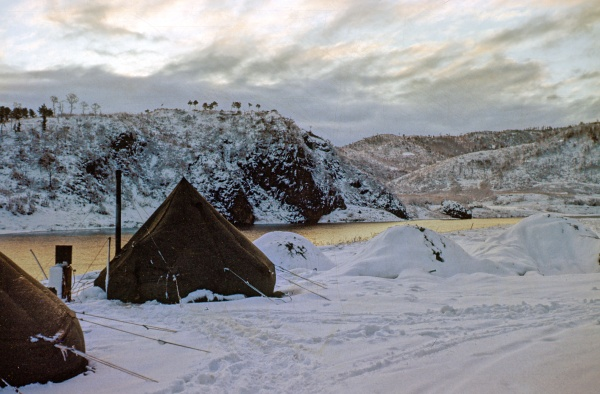 Robert's tent.