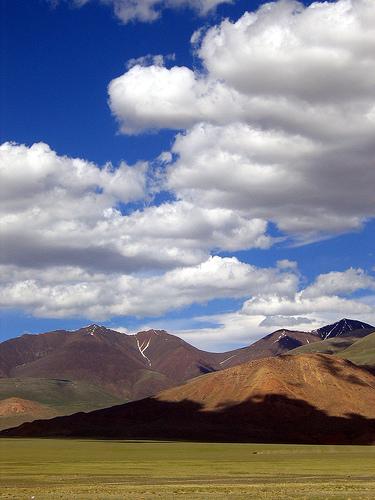 Mongolian landscape.
