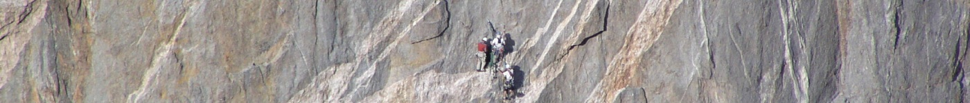 Climbers at the Black Canyon of the Gunnison National Park