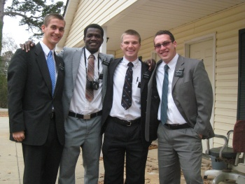 Elders Willoughby, Kwarteng, Mitchell, and Warner in Alabama.