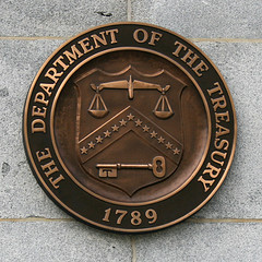 Department of the Treasury seal