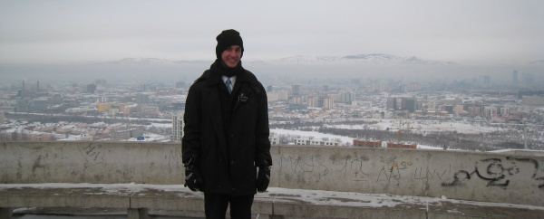 Daniel when he first arrived in Ulaanbaatar