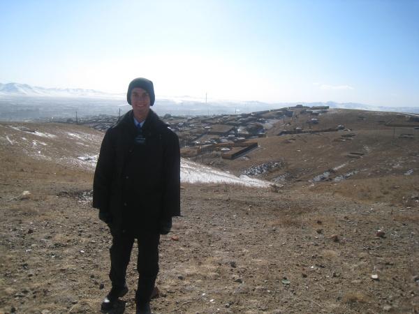 Daniel in Ulaanbaatar