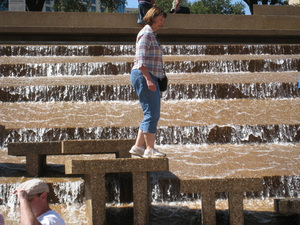 Fort Worth Water Gardens Photo