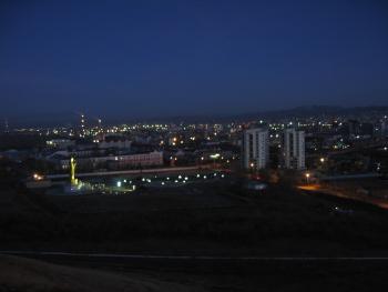 Ulaanbaatar at Dawn.