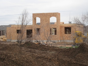 Unfinished home in West Kaysville