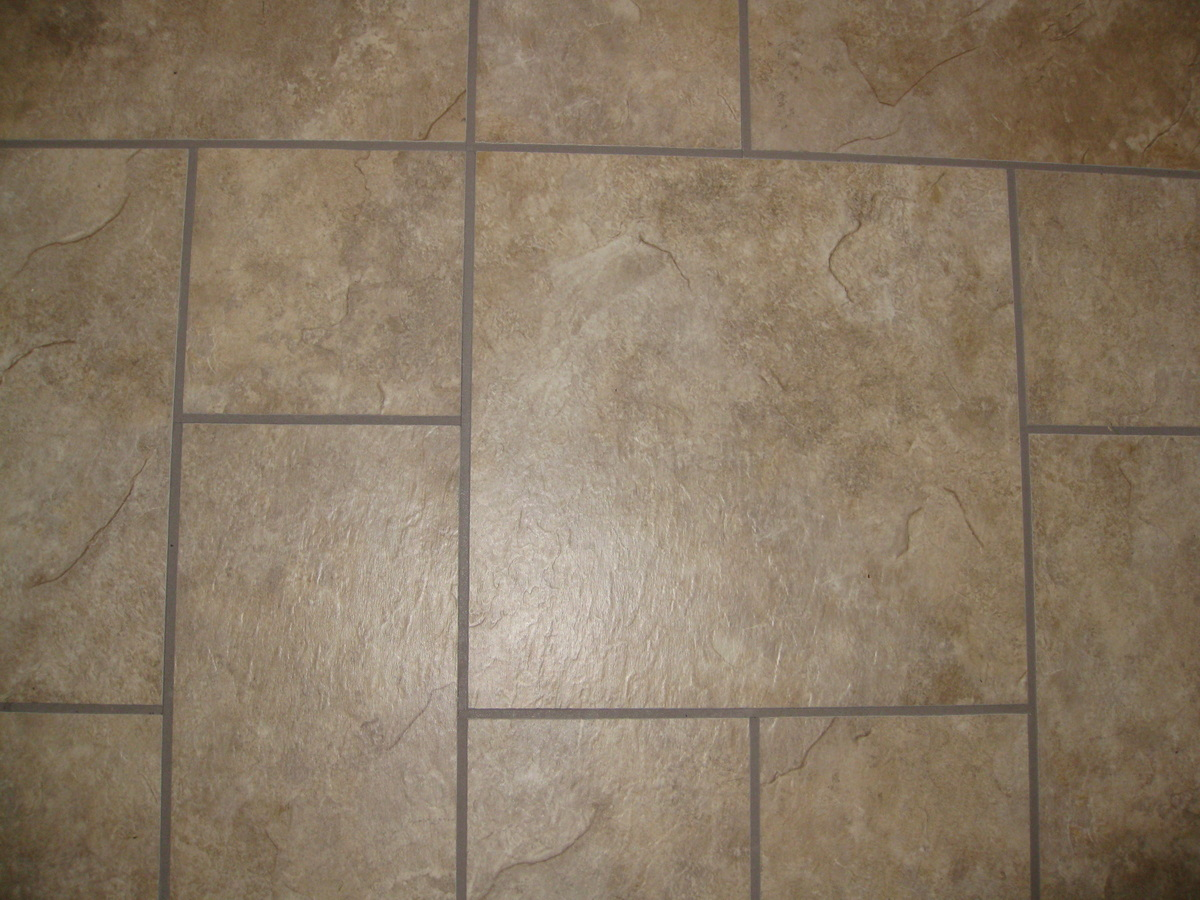 Vinyl flooring patterns patterns gallery for Vinyl tile over linoleum