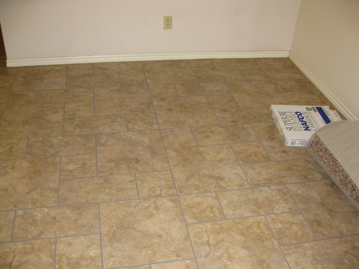 Vinyl tile 2015 home design ideas Vinyl tile floor