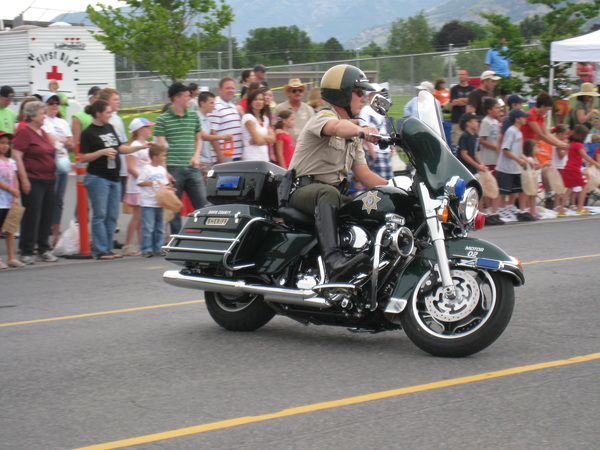 Davis County Sheriff Officer