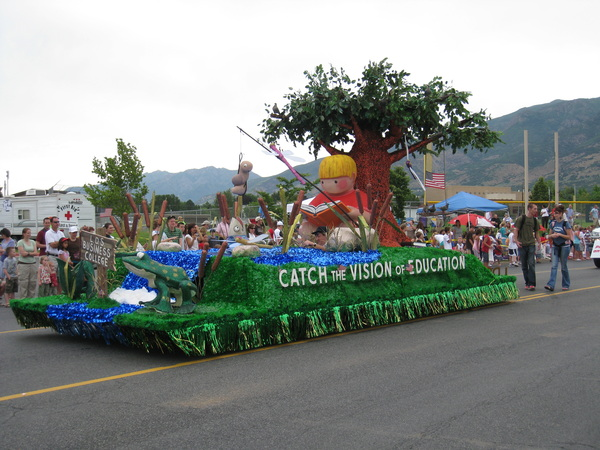 LDS Business College float