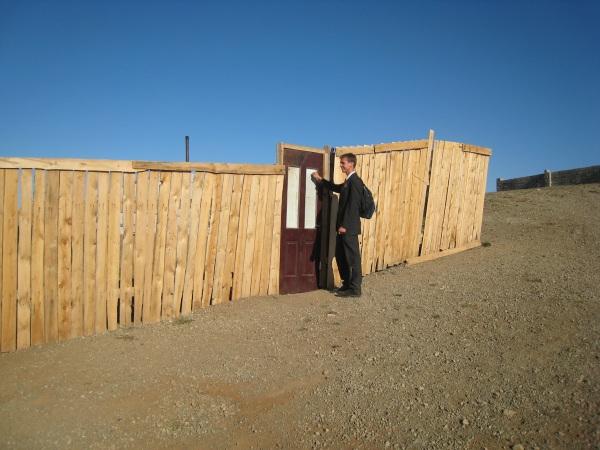 Daniel pseudo-tracting in Ulaanbataar.