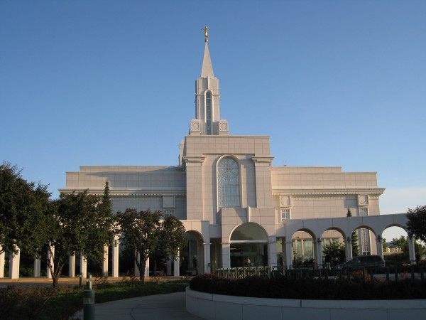 The Bountiful Temple in August 2008