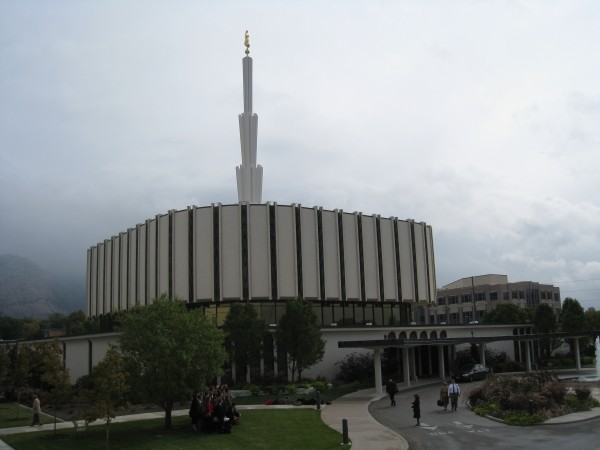 The Ogden temple is a sister building to the Provo temple