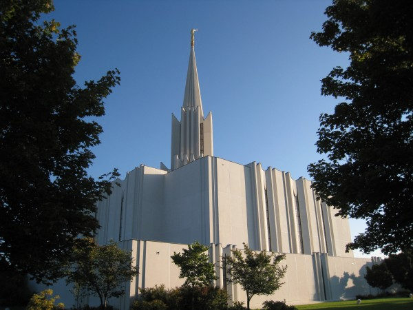 The temple was the only temple dedicated by President Marion G. Romney