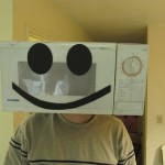 Make a Halloween Costume from a Microwave Oven