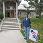 Jill early voting in the Kaysville City elections