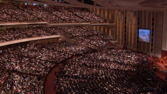 General Conference. Photo Credit: LDS Newsroom