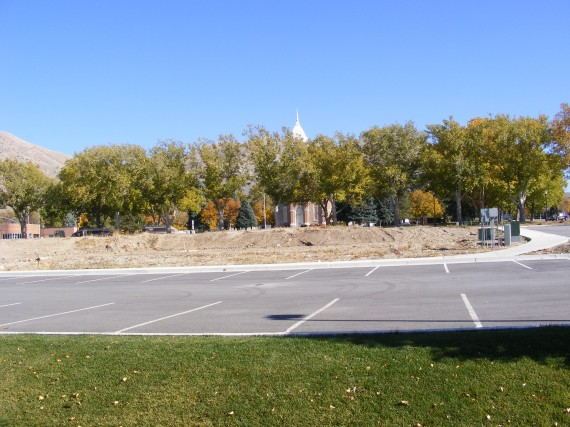 Brigham City Utah Temple lot