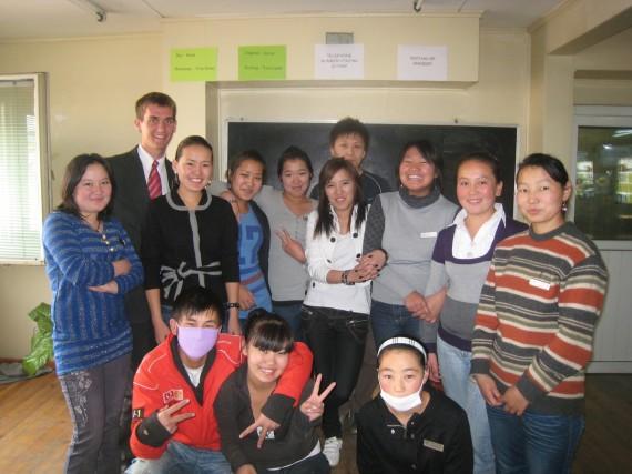 Daniel's English class