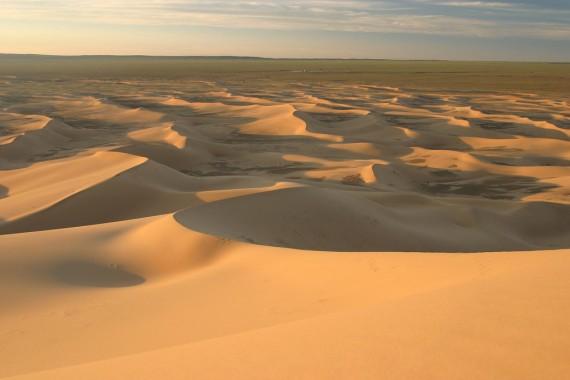 Khongoryn Els sand dunes Gobi Desert Mongolia