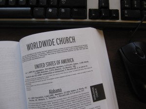 LDS Church Almanac