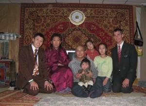 Damdindorj family