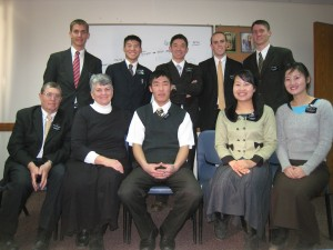 Daniel with missionaries