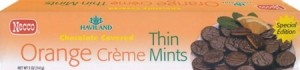 Haviland Orange Creme Thin Mints