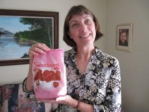 Jill holding sweetearts