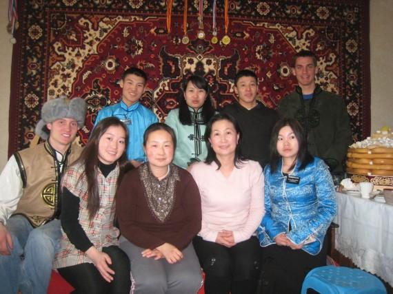 Visiting Mongolian members
