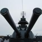 Battleship Texas 14 inch guns